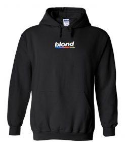 Blond Black Hoodie