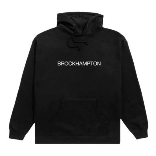Brockhampton Black Hoodie