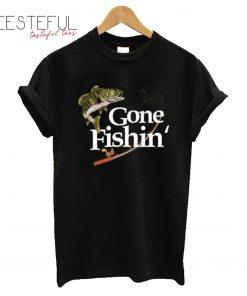 Funny Gone Fishin' T-Shirt