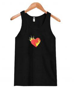 Heart Fire Tank Top