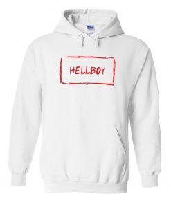 Hellboy White Hoodie