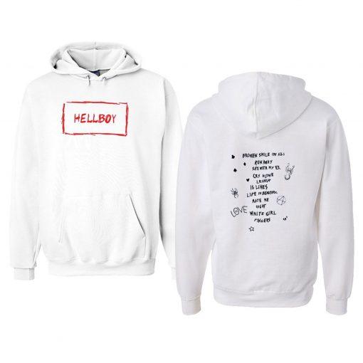 Lil Peep Hellboy Hoodie Youth Hellboy Hoodie