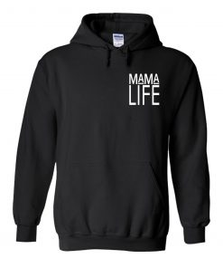 Mama Life Gray Hoodie