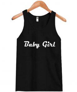Baby Girl Black Tank Top