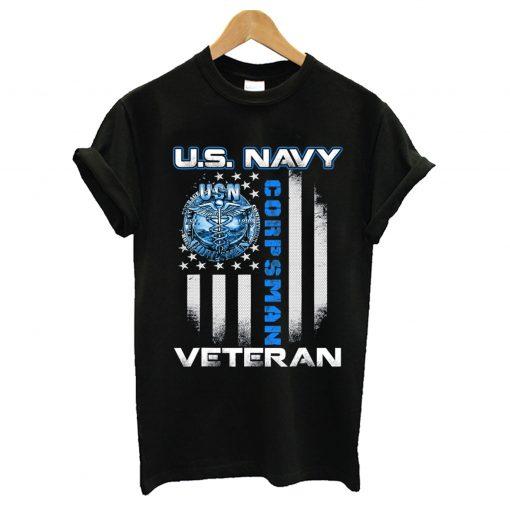 U.S. Navy Corpsman Veteran T-Shirt