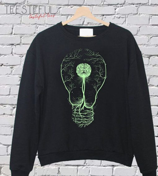 Lamp Green SweatShirt