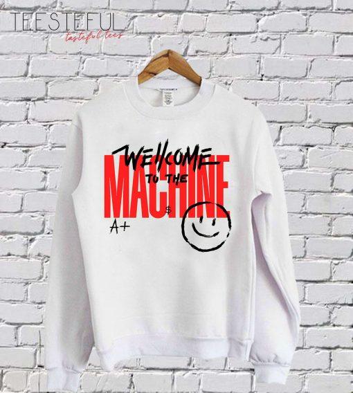 Wellcome Machine SweatShirt