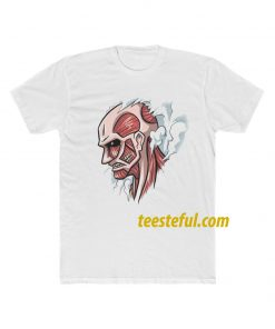 Colossal Titan Attack on Titan Graphic T-shirt thd