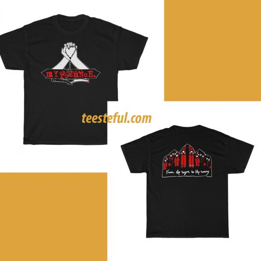 MCR From The Razor To The Rosary T-shirt(2side)thd