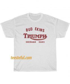 Triumph Motorcycles Bud t-shirt thd