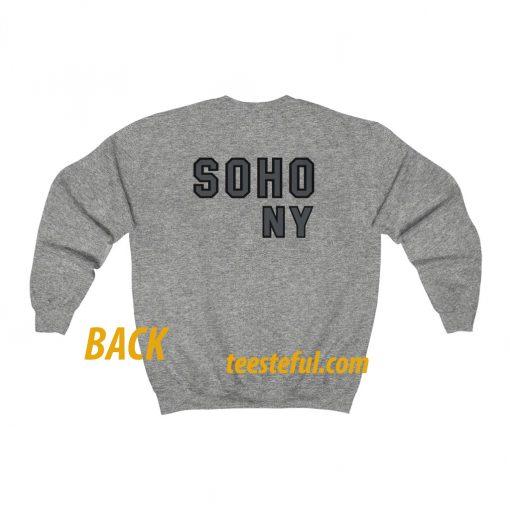 soho ny sweatshirt (back ) thd